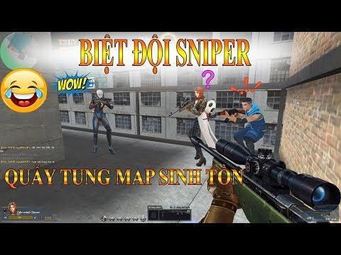 Biệt Đội Sniper Quẩy Tung Truy Kích Sinh Tồn - Truy Kích Showbiz
