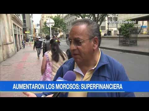 Colombianos le deben a los bancos $406 billones