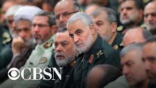 Iran vows revenge for death of Qassem Soleimani as Trump says 52 Iranian sites could be targeted
