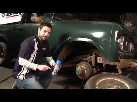 Dupli-Color 2013 Restoration Series: 1969 International Harvester Scout 800 - Episode 7 - Caliper Paint