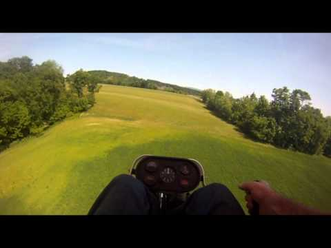 An ideal ultralight flying day