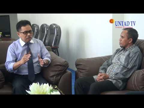 Dok Humas Untad Kunjungan Bupati Morowali Drs H Anwar Hafid Di Universitas Tadulako 13 Agustus 2