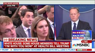 Spicer on anti-lobbying