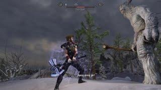 Skyrim SE Mods PC - Stormcaller (Thor Stormbreaker Axe Hammer)