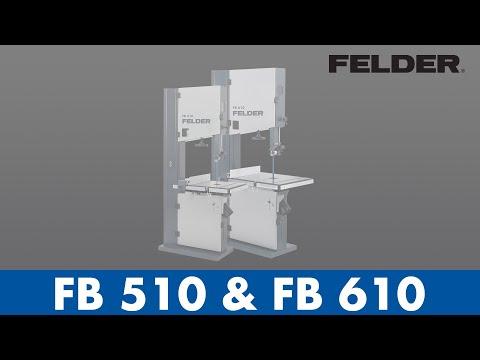 FELDER Bandsaw FB 510 / FB 610
