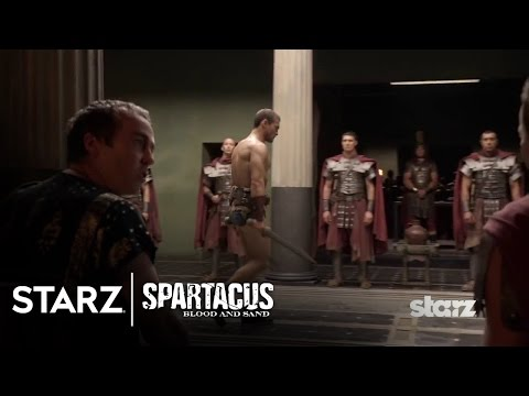 Spartacus: Blood and Sand | Episode 12 Clip: Glaber Demands a Demonstration | STARZ