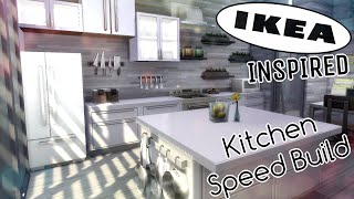 IKEA Inspired Kitchen Speed Build | The Sims 4