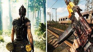 10 игр с лучшей атмосферой. Игры для пк с открытым миром и отличной атмосферой! сталкер метро 2033
