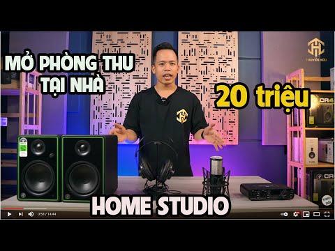 Mở phòng thu âm tại nhà với chi phí DƯỚI 20 TRIỆU ĐỒNG - COMBO VIP TH02 TRUYỀN HỮU MUSIC TƯ VẤN