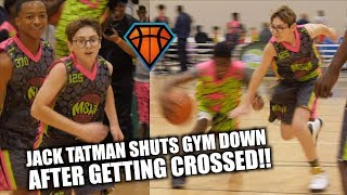 Kid Gets CROSSED, Then SHUTS THE GYM DOWN!! | Jack Tatman Shows HEART & PERSISTENCE