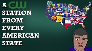A THE CW STATION FROM EVERY AMERICAN STATE