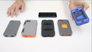 Top 5 Best Protective iPhone 5 & 5S Cases - Review - Otterbox, Griffin, Incipio, Incase ....