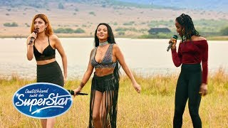 "DSDS 2018   Gruppe 7 - Emilija, Matty, Toranj mit ""Umbrella"" von Rihanna"
