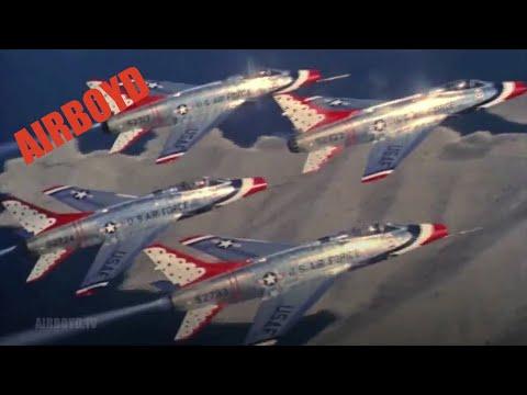 USAF Thunderbirds In Flight (1959)