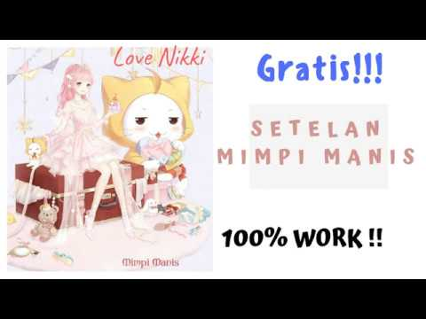 LoveNikki Series: Tutorial mendapatkan setelan Mimpi Manis GRATIS (Step By Step)