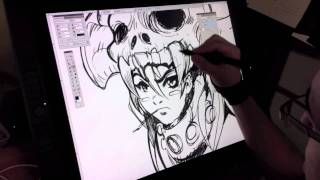 Wacom Cintiq 21UX and Demonstration