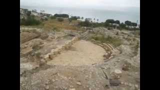 preview picture of video 'Roman Amphitheater in Tiberias, Israel'