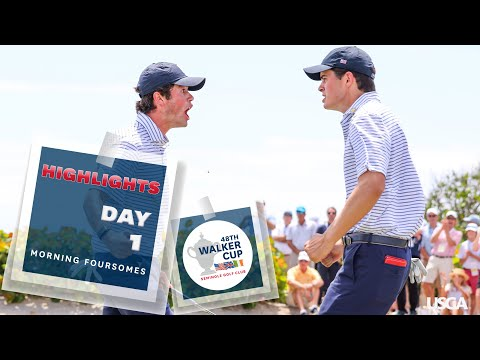 Extended Highlights: 2021 Walker Cup - Saturday Foursomes