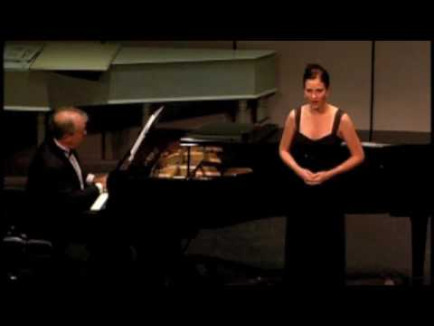 "Michelle Risling performing ""Lied der Mignon"" by Franz Schubert"