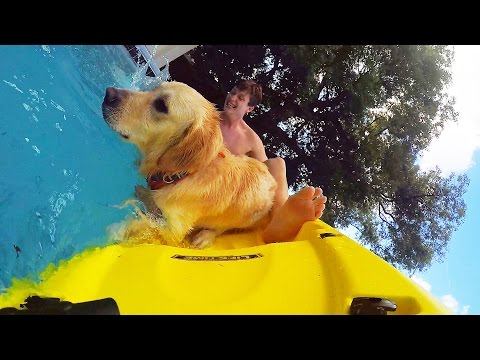 COOPER TRIES KAYAKING! (Super Cooper Sunday #75)