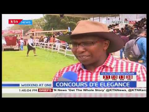 All roads lead to Ngong road as car lovers attend concour d'elegance