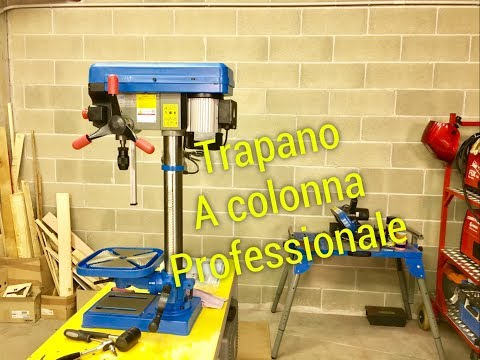Recensione Trapano Colonna 500w fervi 0260 Review professional tools drill press