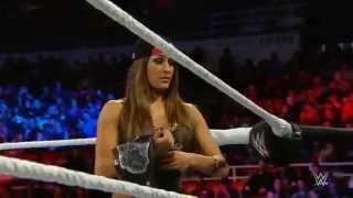 3/10/15: Nikki Bella vs. Naomi