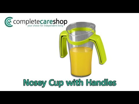 Deluxe Nosey Cup with Handles Demo