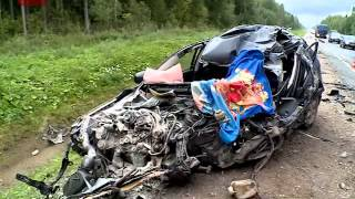 На федеральной трассе «Россия» в Крестецком районе произошло серьезное ДТП