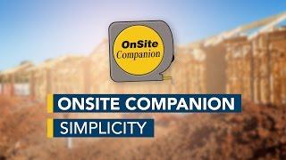 OnSite Companion Simplcity