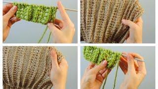 Ажурный узор спицами | ANNETORIUM knits