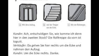 Start Deutsch 1 Modelltest Hören