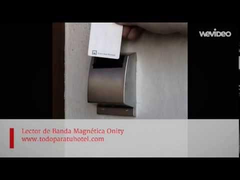 Cerraduras electrónicas Onity | Lector mural