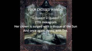 Absu - Four Crossed Wands (Spell 181) (Lyrics)