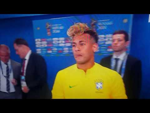 Neymar Jr New Hairstyle World Cup 2018 Whats Good Youtube Video