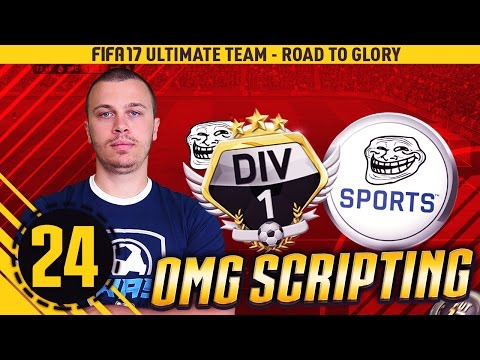 FIFA 17 OMG HUGE SCRIPTING DIVISION 1 - INCREDIBLE GAMES - HOW TO WIN DIVISION 1 - BEST GAMEPLAY