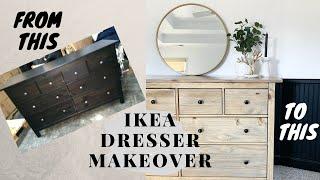 Bedroom Makeover Part 1| Ikea Hemnes Dresser Makeover