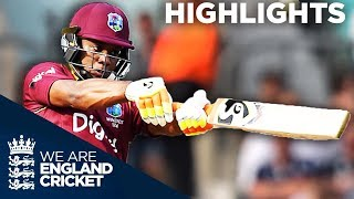 Lewis Hits Stunning 176 Before Buttler And Ali Fight Back   England v West Indies 4th ODI 2017