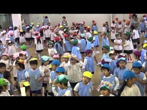 ともべ幼稚園「雨の日の元気タイム」