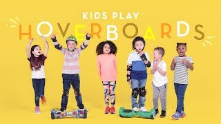 Kids Play with Hoverboards | Kids Play | HiHo Kids