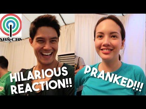ABS-CBN Stars Get Pranked! HILARIOUS REACTION (Ft. Daniel Matsunaga, Ellen Adarna, Solenn Heussaff)