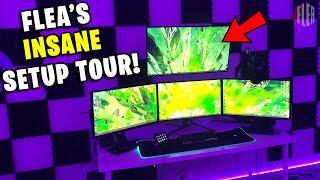 How I Made The Worlds Best Gaming Setup! / Fleas Setup Tour 2020