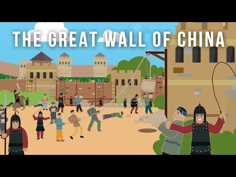 The Great wall of China (World Wonder)