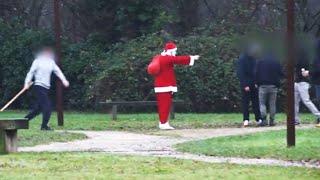 Racketter des Racketteurs en Pere Noël,tourne mal (IbraTV)