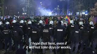 Protesty pozbawionych swoich praw kobiet w Warszawie idą w świat.