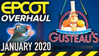 EPCOT OVERHAUL CONSTRUCTION TOUR JANUARY 2020! - Disney News