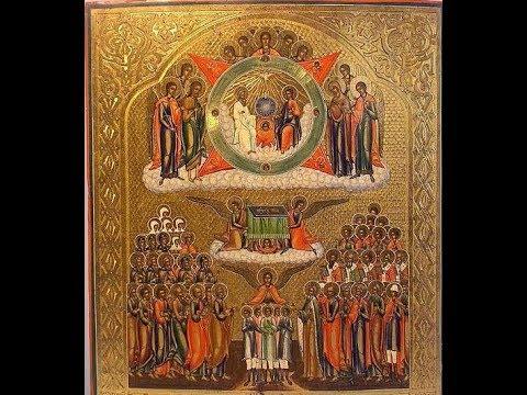 Молитва всем святым о помощи в сдаче экзаменов и учении