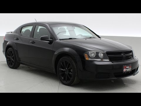 2013 Dodge Avenger SE Blacktop | Black Alloy Wheels, Uconnect | ridetime.ca