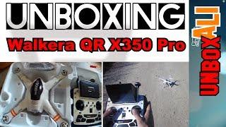 Unboxing Walkera QR X350 Pro + DEVO F12E transmitter