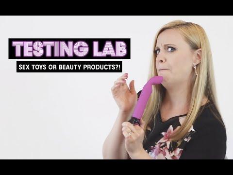 De tror sexleketøyene er skjønnhetsprodukter